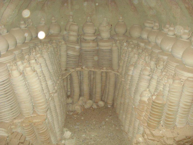 Inside the Tile Oven