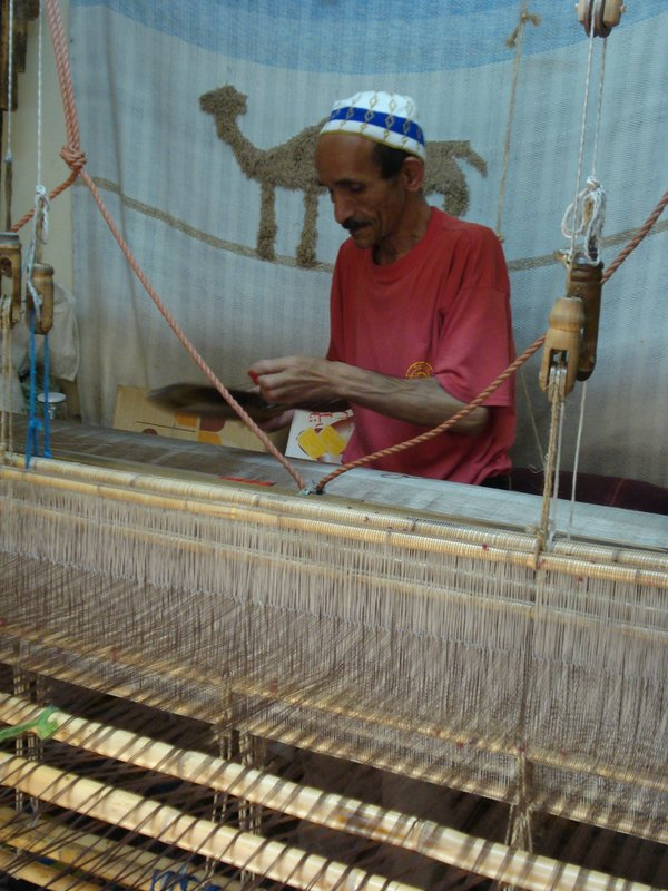Making the Cloth