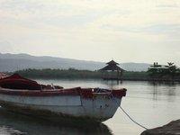 rowboat in Jamaica