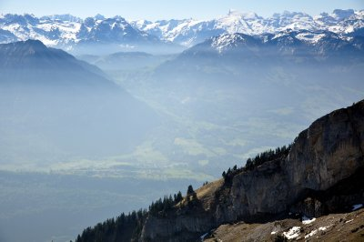 View from Mount Pilatus