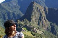 Anetka na Machu Picchu