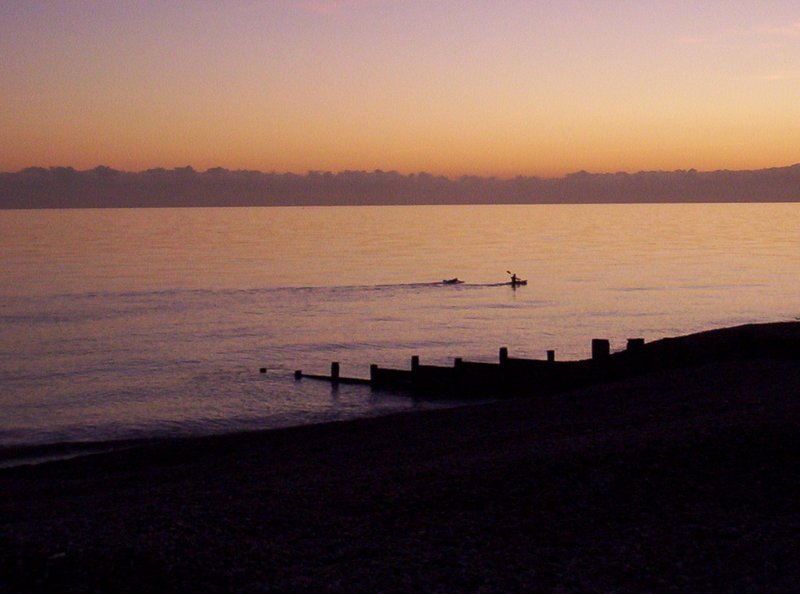 Sunset over Bexhill