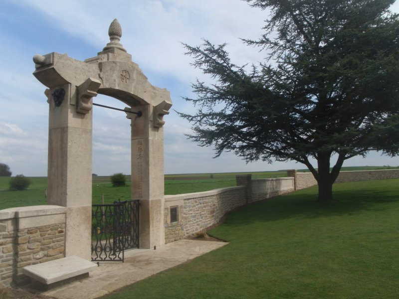 Chinese Cemetery Somme