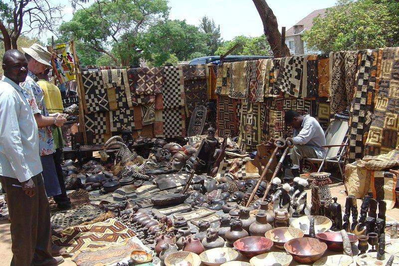 Lusaka Saturday Artisans Market Zambia Travellerspoint