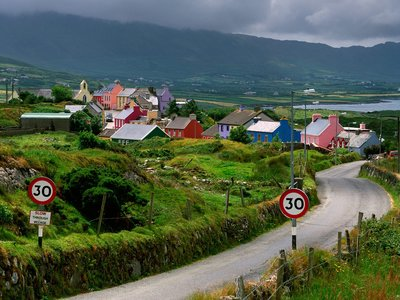 The little town of County Cork.