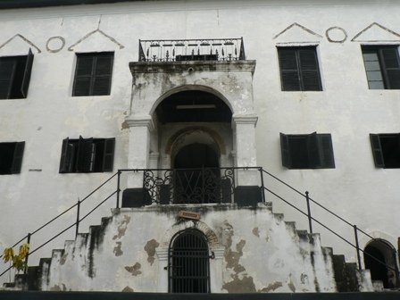 The main offices and Governors Chambers of Elmina Castle