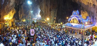 Thaipusam at Batu Cave