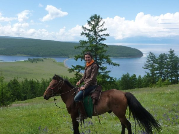 Horseback riding in Khovsgol Mongolia