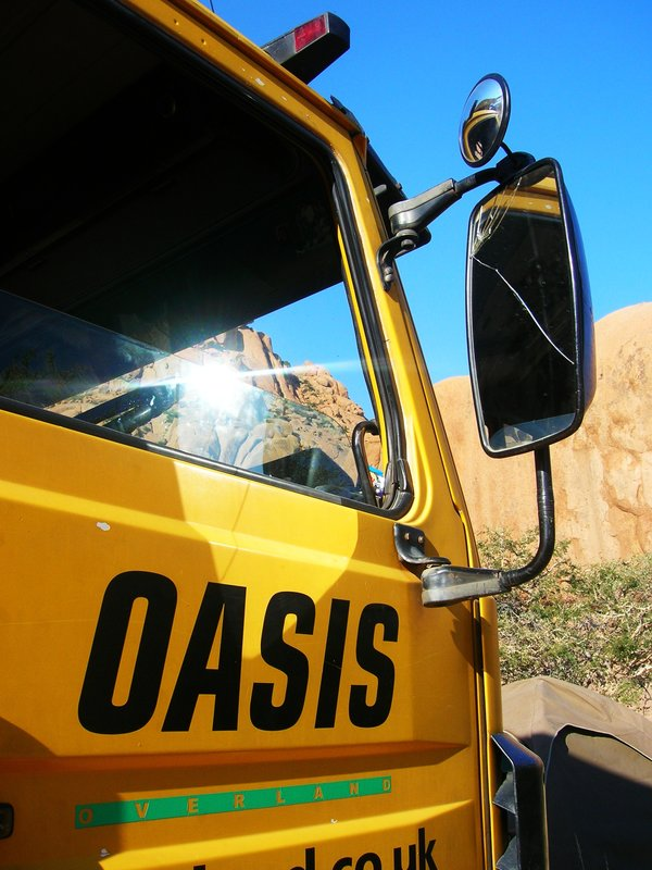 The fantastic Oasis overland company...highly recommended!