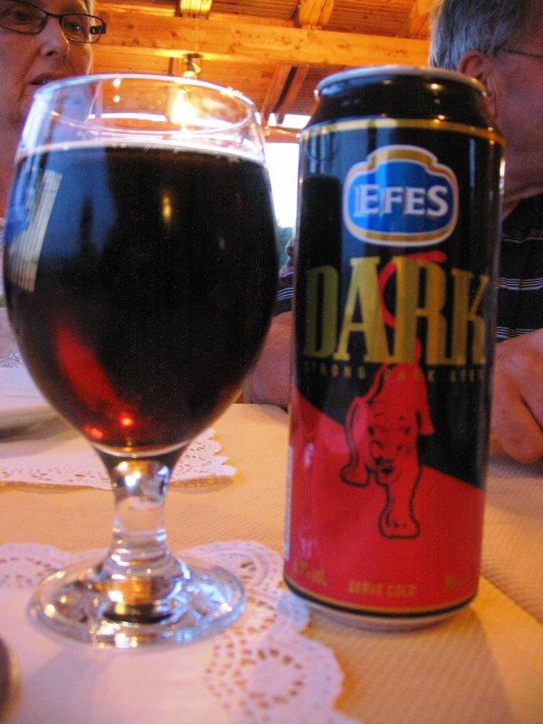 Efes Dark - good company for Eurovision!