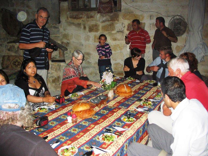 Dinner with a local Cappadocian family