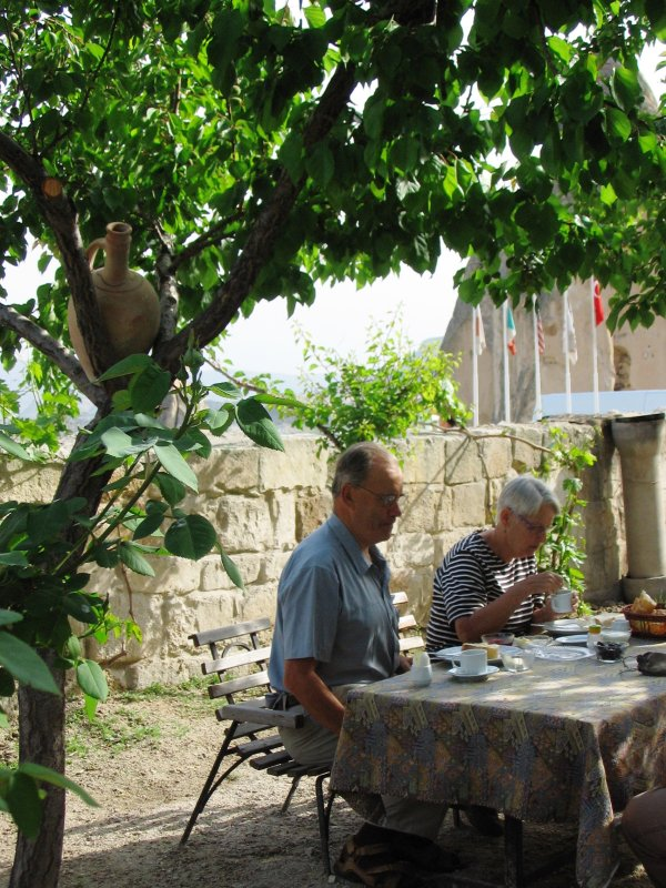 Breakfast on our last morning in Göreme