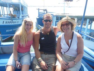 My sis and mum