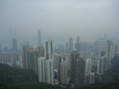 Not the best view from the peak