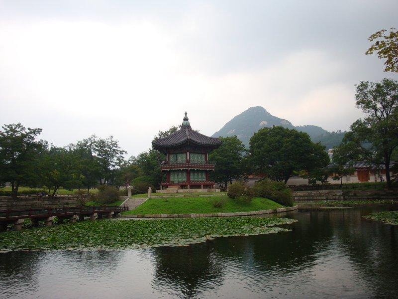 Korean Palace Vista--Seoul, South Korea