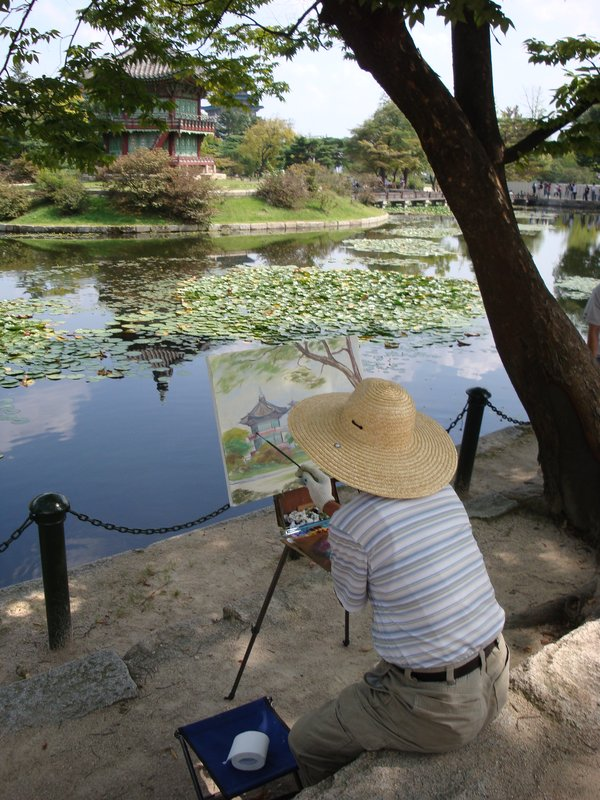 Local paints--Seoul, South Korea