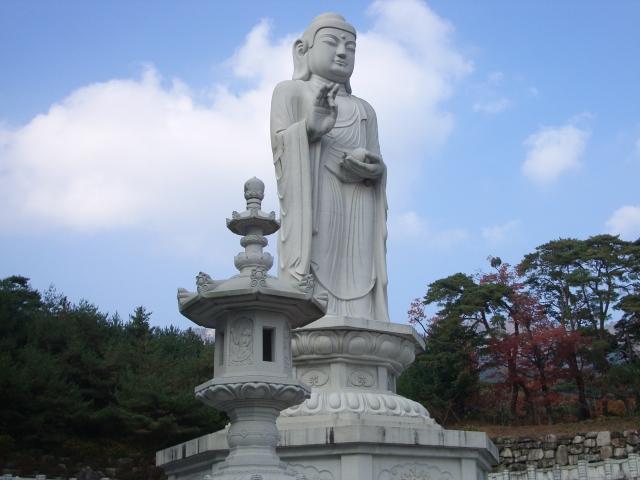 Impressive Buddha Statue, South Korea