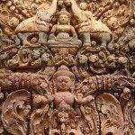 Carvings at Angkor Wat