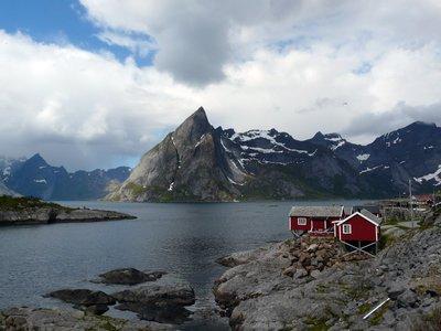 Rorbu in Kjerkefjorden
