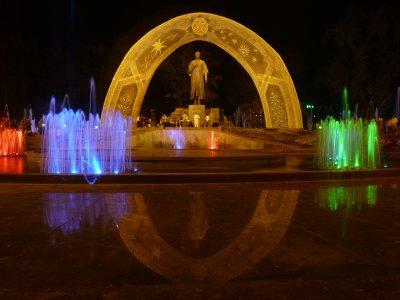 Rudaki Statue, Dushanbe