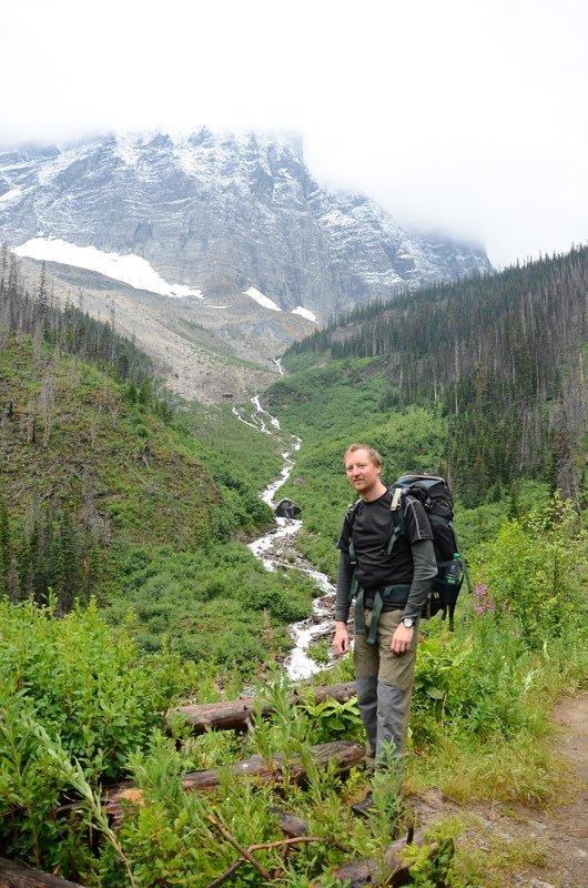 Me, on Floe Creek trail