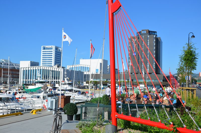 Harbour promenade, Bodø