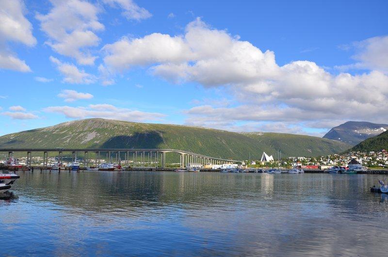 The Tromsø Bridge and Arctic Cathedral