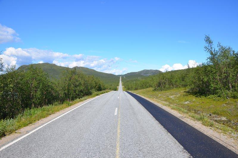 E8 through Finland