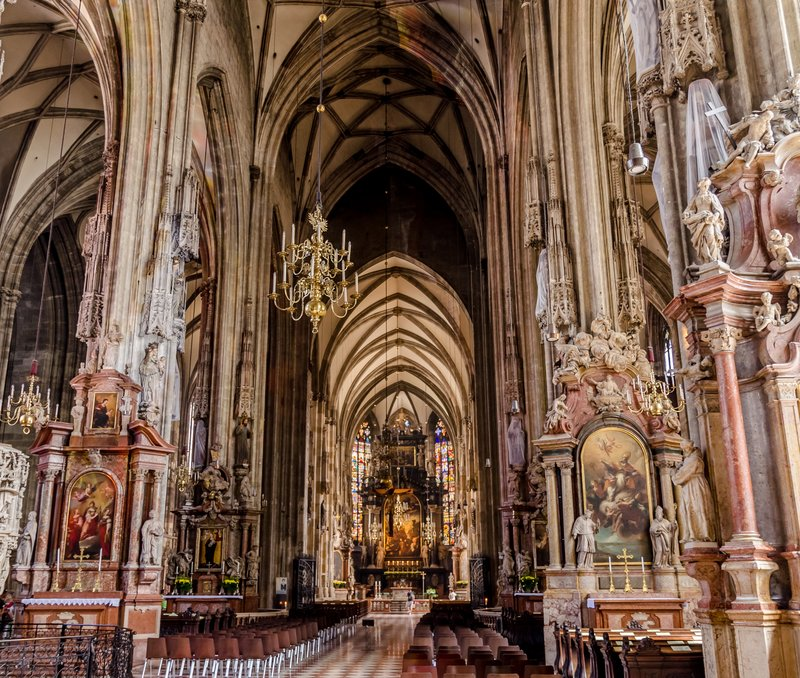 St. Stephen's Cathedral interior