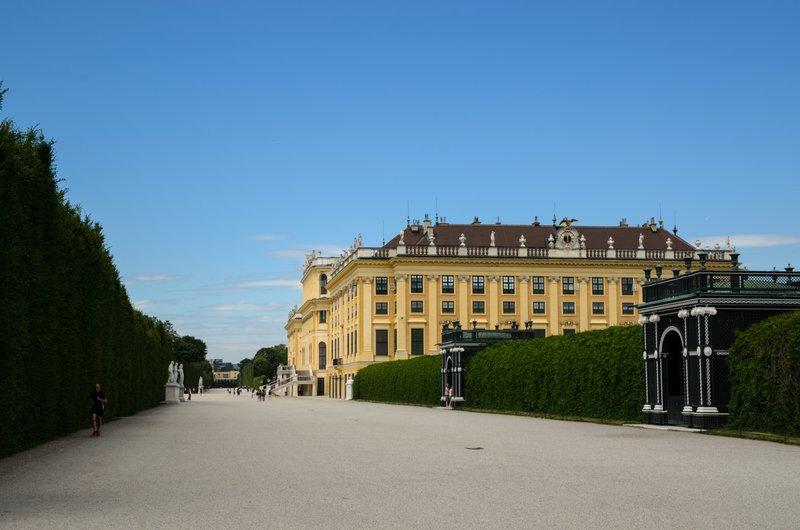 Schönbrunn Palace east wing