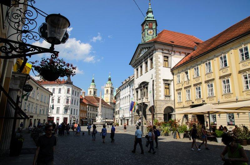 Town Square, Ljubljana
