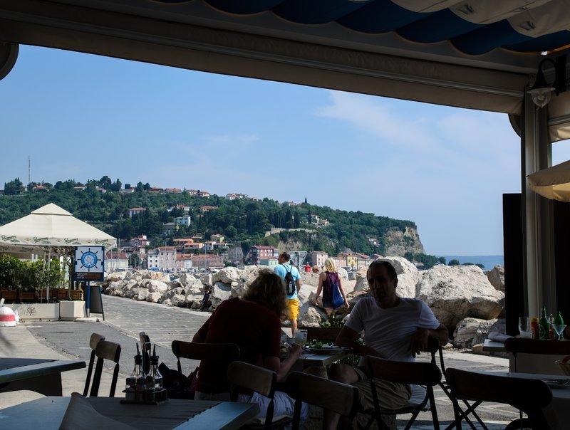 Seaside restaurant, Piran