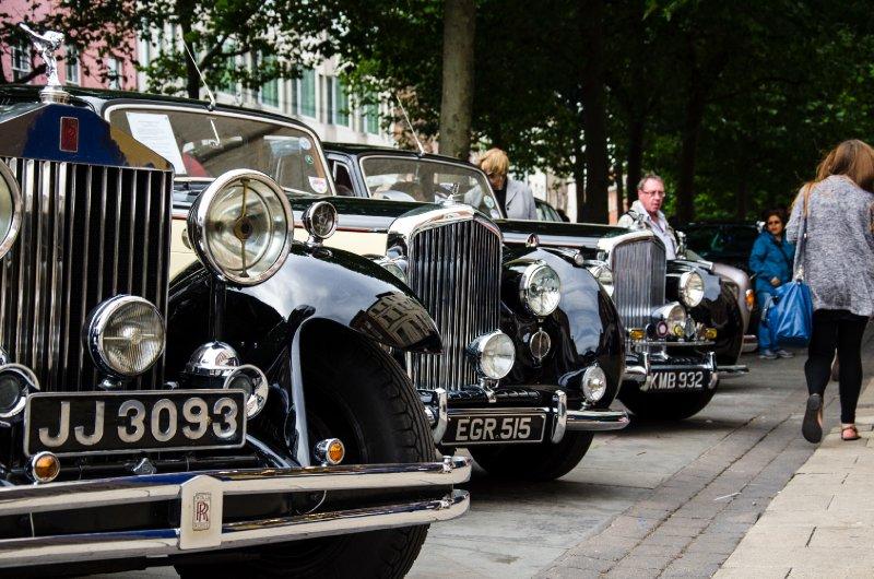 Rolls Royce Enthusiasts' Club display