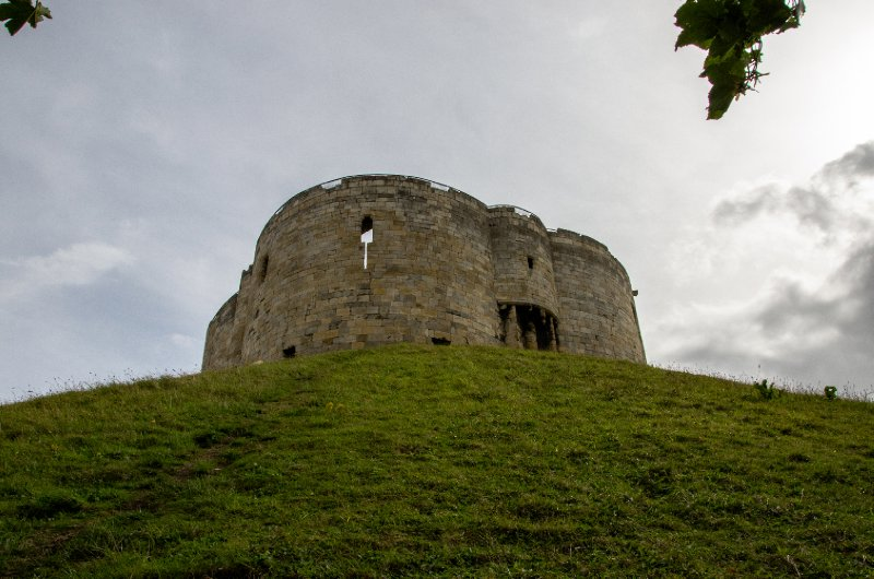 Clifford's Tower, the keep of York Castle