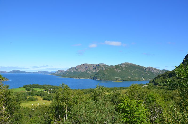 View near Lysfjord
