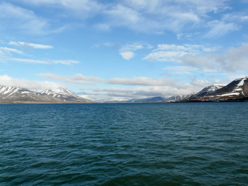 Adventfjorden from Langöysund