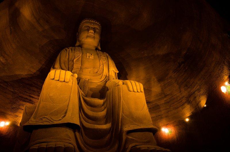 Sitting Buddha statue, Leshan Oriental Buddhist Theme Park