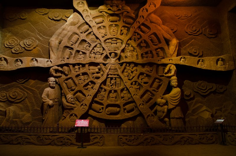 Wheel of Samsara, Leshan Oriental Buddhist Theme Park