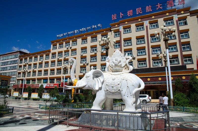 White elephant, Xiahe