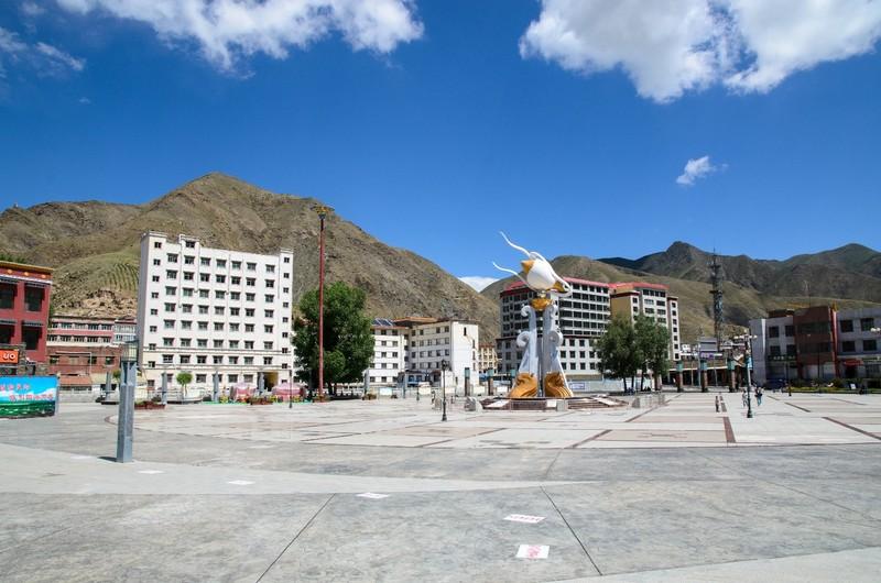 Xiahe square