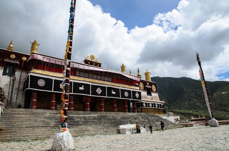 Main assembly hall, Drepung monastery