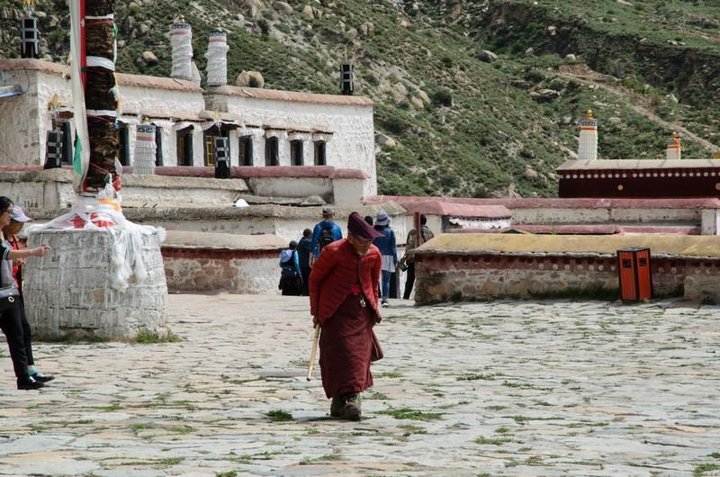Monk, Drepung monastery