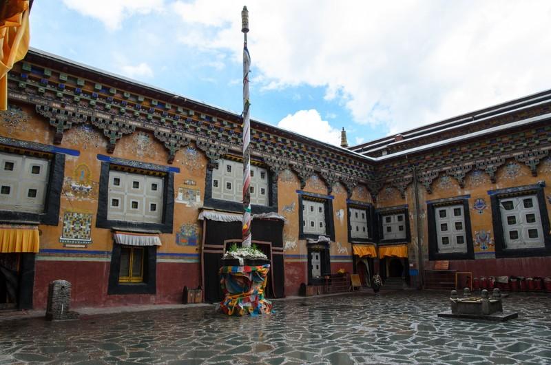 Assembly hall, Sakya monastery