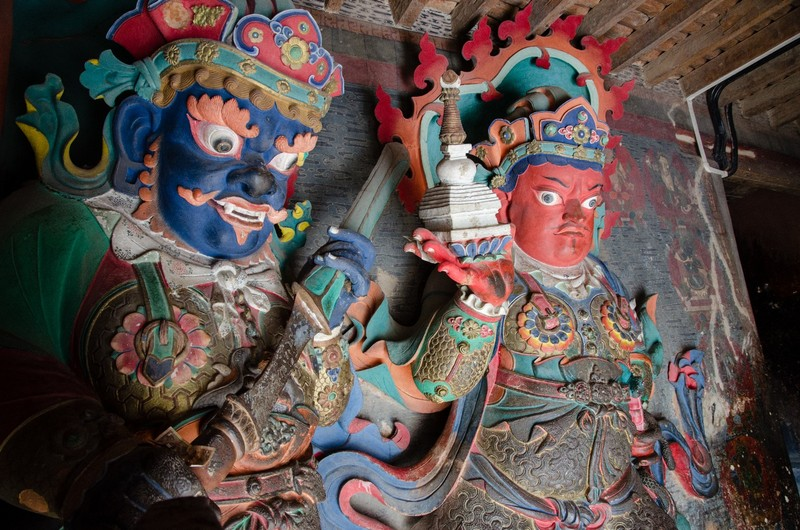 Guardian Kings, Gyantse Kumbum