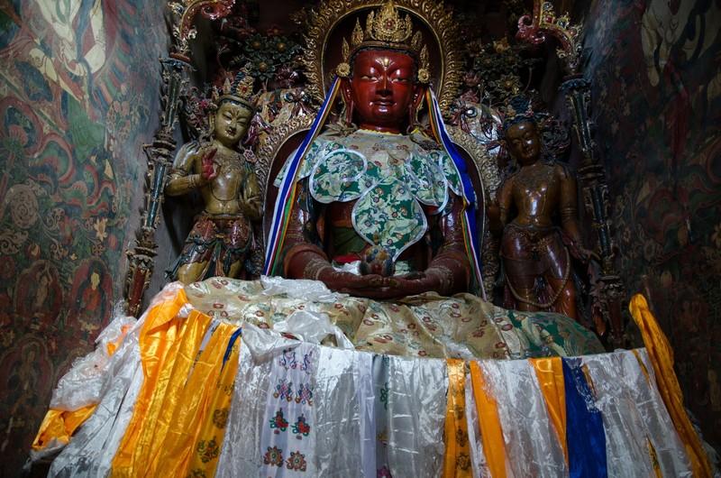 Buddha, Gyantse Kumbum
