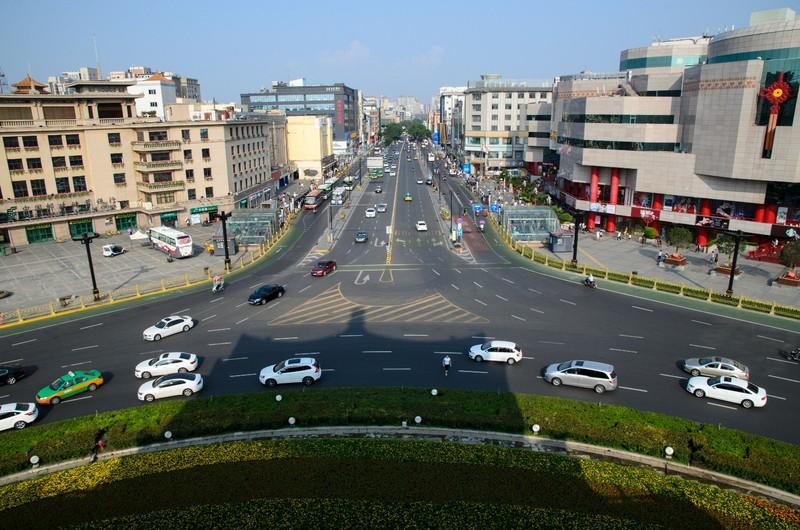 Xian city centre