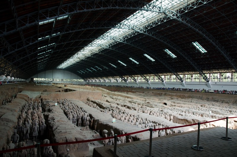 Terracotta army, pit number one