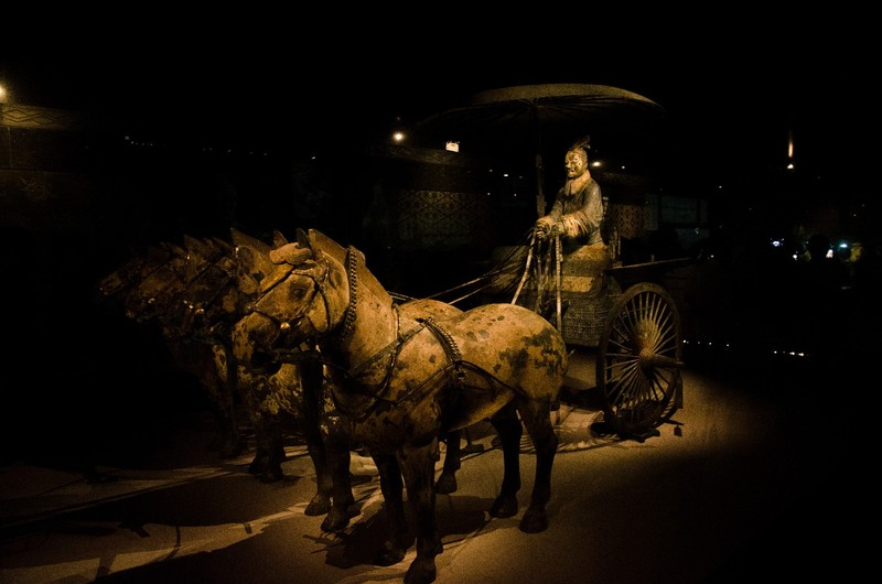 Bronze Chariot and Horses, Terracotta army