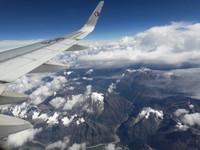 Tibet from above, Lhasa-Xian flight