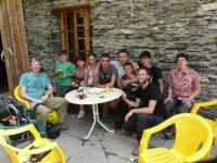 Lunch at a café in Ushguli